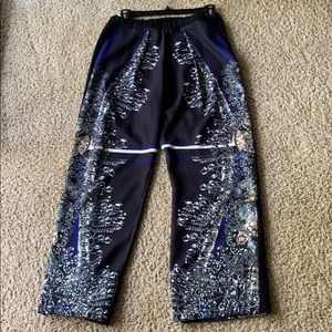 Like new clover canyon chandelier pants size small
